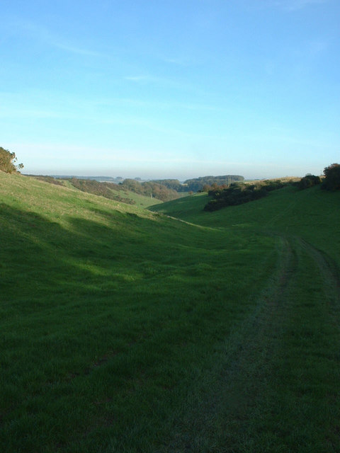 View down Southover Bottom
